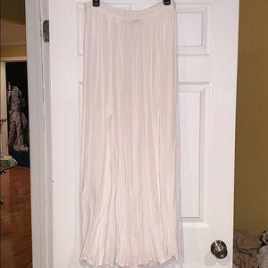 Dresses & Skirts - white maxi skirt coverup
